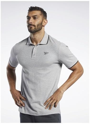 Reebok Reebok Fq4219 Rı Polo Polo T-Shirt Gri